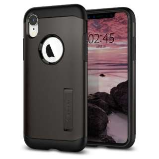 b21f7c2268 iPhone XR 6.1 Case Slim Armor Gunmetal