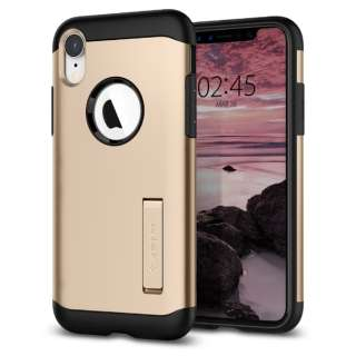 iPhone XR 6.1 Case Slim Armor Champagne Gold