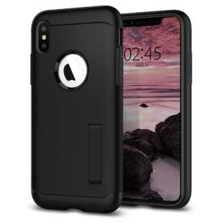 iPhone XS Max 6.5 Case Slim Armor Black