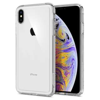 iPhone XS Max 6.5 Case Crystal Hybrid Crystal Clear