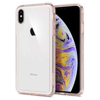 iPhone XS Max 6.5 Case Crystal Hybrid Rose Crystal