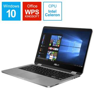 VivoBook Flip 14 TP401NA TP401NA-BZ001T [14.0型 /intel Celeron /eMMC:64GB /メモリ:4GB]