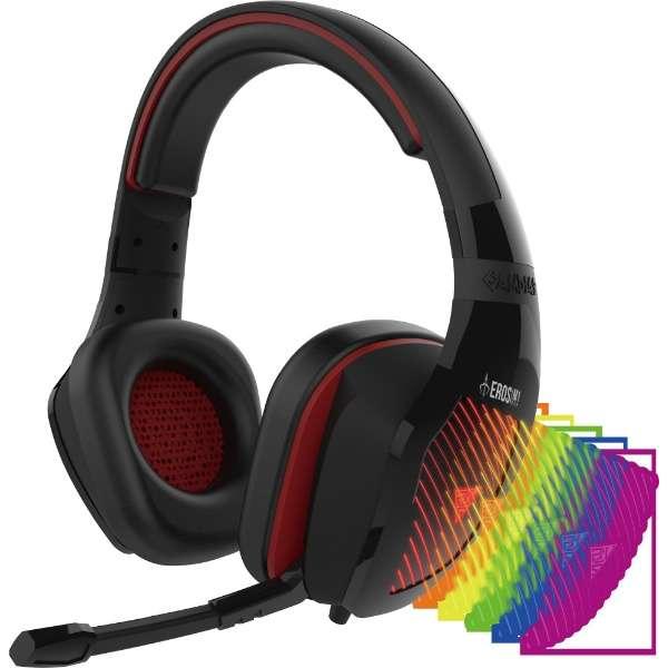 EROS M1 有線ゲーミングヘッドセット [USB /両耳 /ヘッドバンドタイプ]