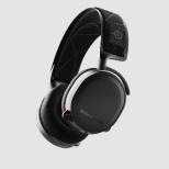 61505 ゲーミングヘッドセット Arctis 7 Black (2019 Edition) STEELSERIES(スティールシリーズ) ブラック [ワイヤレス(USB)+有線 /両耳 /ヘッドバンドタイプ]