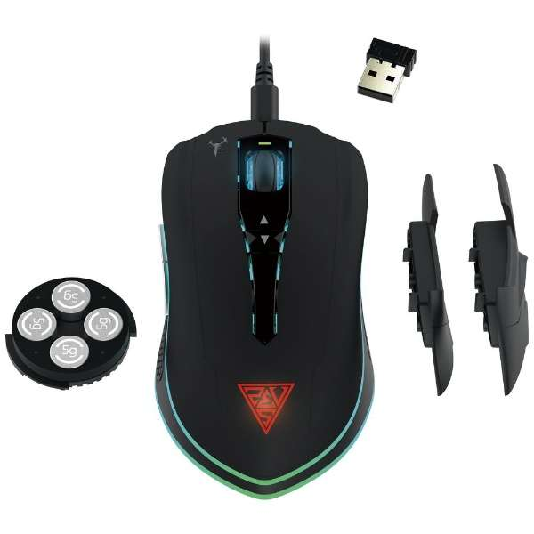 HADES M1 ゲーミングマウス HADES [光学式 /7ボタン /USB /有線/無線(ワイヤレス)]