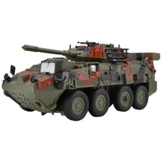 赤外線バトルシステム搭載 R/C バトルヴィークルジュニア 8輪装甲車 グリーン迷彩 27MHz