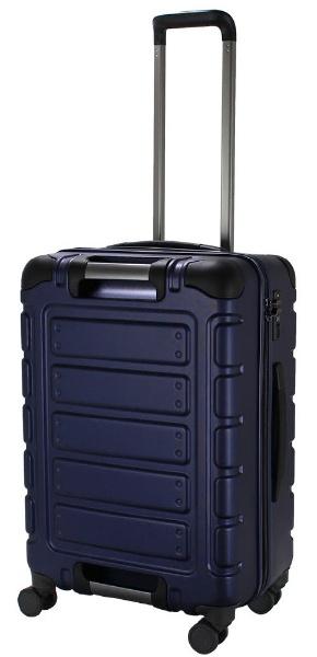 スーツケース ハードジッパー 55L マットネイビー TRI211256MTNV [TSAロック搭載]