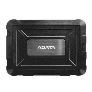 AED600-U31-C HDDケース XPG ブラック [SATA /1台 /2.5インチ対応]
