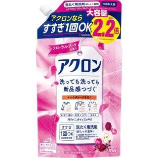 アクロン フローラルブーケの香り つめかえ用大(900ml)[衣類洗剤]