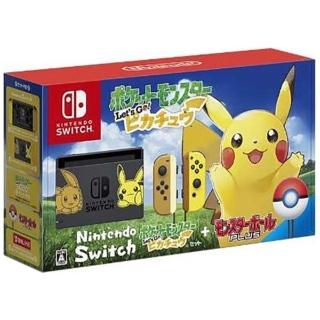 Nintendo Switch ポケットモンスター Lets Go! ピカチュウセットが41,007円【15時~】