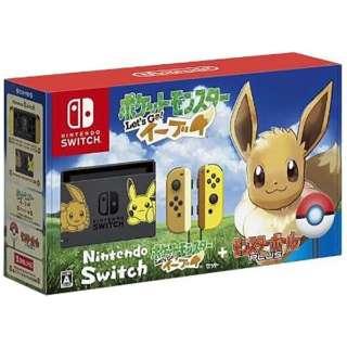 Nintendo Switch ポケットモンスター Lets Go! イーブイセット(モンスターボール Plus付き) [ゲーム機本体]