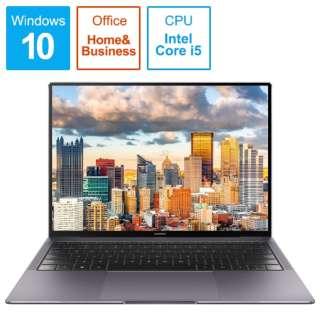 HUAWEI MateBook X Pro MAW19CH58BNC6AUB [13.9型 /intel Core i5 /SSD:256GB /メモリ:8GB]