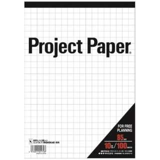 プロジェクトペーパーB5 10ミリ方眼