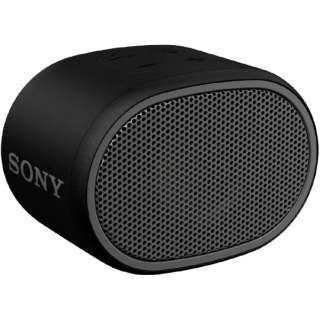 SRS-XB01BC ブルートゥース スピーカー ブラック [Bluetooth対応 /防水]