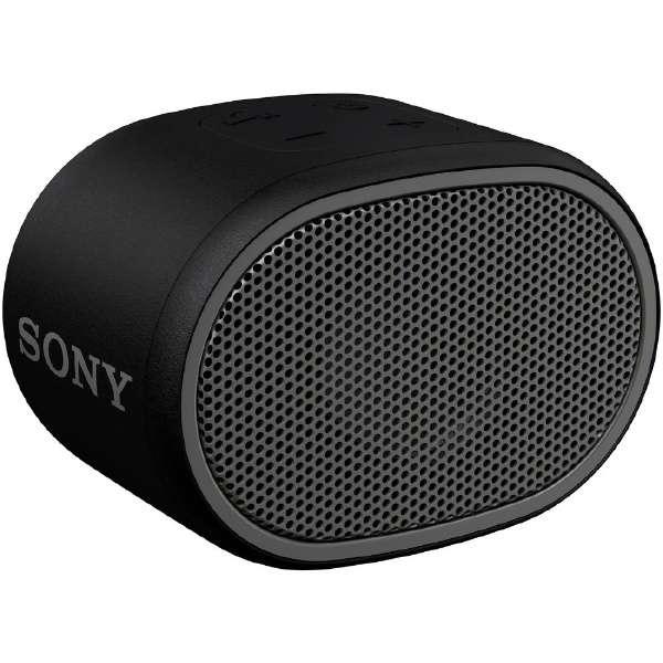 ブルートゥース スピーカー SRS-XB01BC ブラック [Bluetooth対応 /防水]