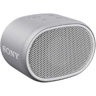 SRS-XB01WC ブルートゥース スピーカー ホワイト [Bluetooth対応 /防水]