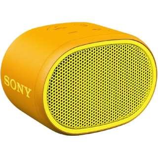 SRS-XB01YC ブルートゥース スピーカー イエロー [Bluetooth対応 /防水]
