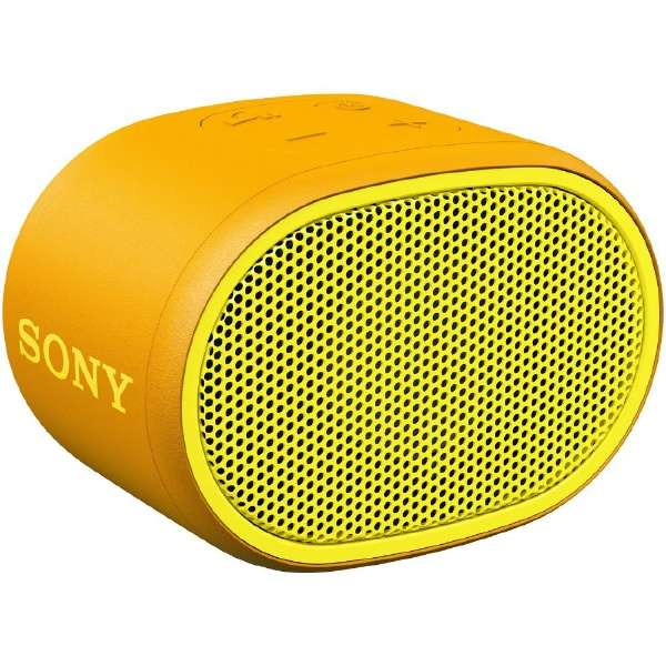 ブルートゥース スピーカー SRS-XB01YC イエロー [Bluetooth対応 /防水]