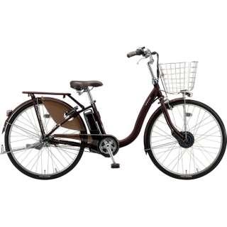 26型 電動アシスト自転車 フロンティアデラックス(F.Xカラメルブラウン/内装3段変速)F6DB49【2019年モデル】 【組立商品につき返品不可】