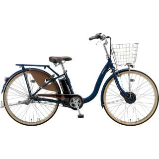 26型 電動アシスト自転車 フロンティアデラックス(E.Xノーブルネイビー/内装3段変速)F6DB49【2019年モデル】 【組立商品につき返品不可】
