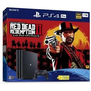 PlayStation 4 Pro (プレイステーション4 プロ) レッド・デッド・リデンプション2 パック CUHJ-10028 [ゲーム機本体]