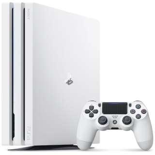 PlayStation 4 Pro (プレイステーション4 プロ) グレイシャー・ホワイト 1TB CUH-7200BB02 [ゲーム機本体]