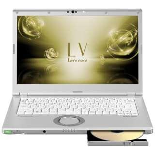 CF-LV7HDFQR ノートパソコン Let's note(レッツノート)  LVシリーズ シルバー [14.0型 /intel Core i5 /SSD:128GB /メモリ:8GB /2018年10月モデル]