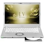 CF-LV7JDVQR ノートパソコン Let's note(レッツノート)  LVシリーズ シルバー [14.0型 /intel Core i7 /SSD:512GB /メモリ:8GB /2018年10月モデル]