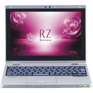 CF-RZ6CDBPR ノートパソコン Let's note(レッツノート)  RZシリーズ シルバーxブルー [10.1型 /intel Core m3 /SSD:128GB /メモリ:8GB /2018年10月モデル]
