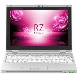 CF-RZ6CDFQR ノートパソコン Let's note(レッツノート)  RZシリーズ シルバー [10.1型 /intel Core m3 /SSD:128GB /メモリ:8GB /2018年10月モデル]