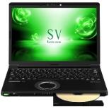 CF-SV7JDUQR ノートパソコン Let's note(レッツノート)  SVシリーズ ブラック [12.1型 /intel Core i7 /SSD:250GB /メモリ:8GB /2018年10月モデル]