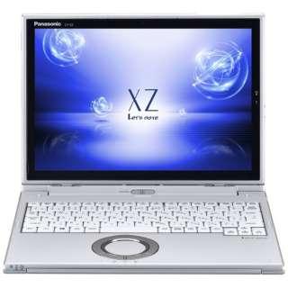 CF-XZ6DDAPR ノートパソコン Let's note(レッツノート)  XZシリーズ シルバー [12.0型 /intel Core i5 /SSD:128GB /メモリ:8GB /2018年10月モデル]