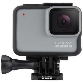 マイクロSD対応 フルハイビジョンムービー ウェアラブルカメラ GoPro(ゴープロ) HERO7 ホワイト CHDHB-601-FW [フルハイビジョン対応 /防水]