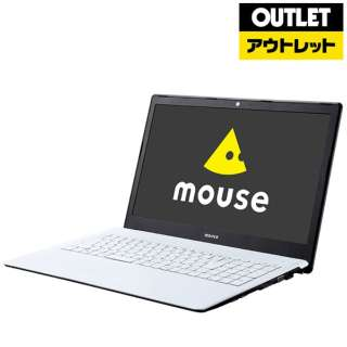 【アウトレット品】 15.6型ノートPC[Win10 Home・Core i7・SSD 240GB・メモリ 8GB・Office Home & Business] MB15B7M8S2W 【生産完了品】
