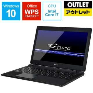 【アウトレット品】 15.6型ゲーミングノートPC[Core i7・HDD 2TB・SSD 256GB・メモリ 8GB・GTX1050・WPS Office付] NGNI785M8S2H2X15DW10 【生産完了品】