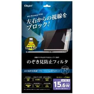 PC用のぞき見防止フィルタ 15.6W SFFLGPV156W