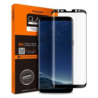 Galaxy S8 Glass FC Black (1Pack)