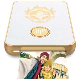 LP007-5 フォト&ビデオ用2x3サイズプリンター ハリーポッター ホワイト