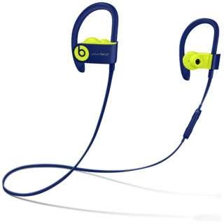bluetooth イヤホン カナル型 MREQ2PA/A Popインディゴ [リモコン・マイク対応 /ワイヤレス(左右コード) /Bluetooth]