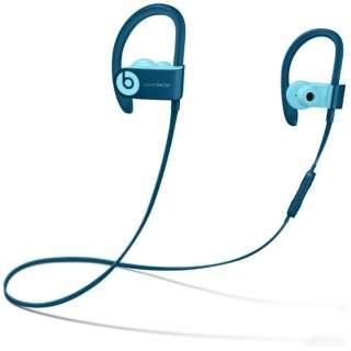 bluetooth イヤホン カナル型 MRET2PA/A Popブルー [リモコン・マイク対応 /ワイヤレス(左右コード) /Bluetooth]