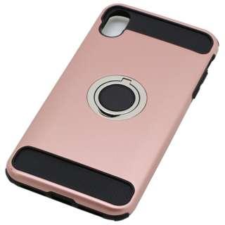 iPhoneXS Max  リング付ケース耐衝撃 PK