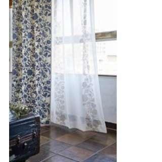 ドレープカーテン クルヌ(100×135cm/ブルー)【日本製】