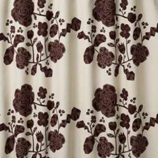 ドレープカーテン クルヌ(100×178cm/ブラウン)【日本製】