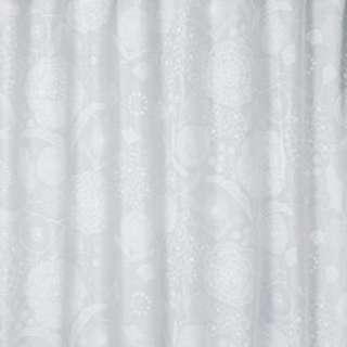 レースカーテン イハナボイル(100×198cm/ホワイト)【日本製】