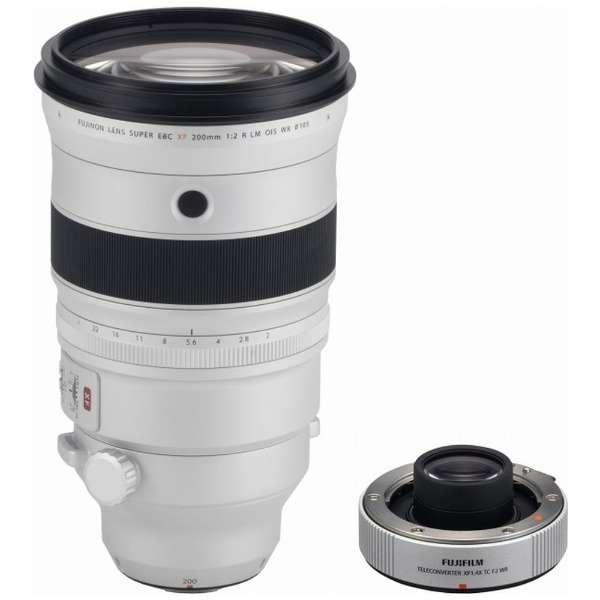 カメラレンズ XF200mmF2 R LM OIS WR FUJINON(フジノン) ホワイト [FUJIFILM X /単焦点レンズ]