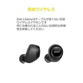 フルワイヤレスイヤホン ZOLO Liberty ブラック Z2000511-9 [ワイヤレス(左右分離)]