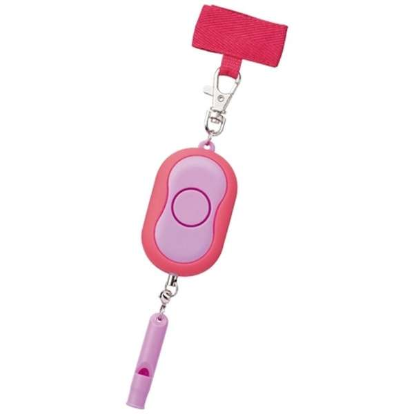 防犯アラーム SL022PK ピンク