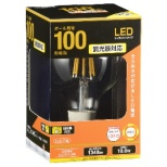 LDG10L/D C6 LEDフィラメント電球 クリア [E26 /電球色 /1個 /100W相当 /ボール電球形 /全方向タイプ]