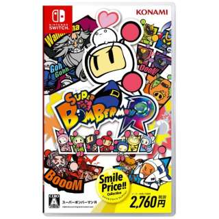 SUPER BOMBERMAN R SMILE PRICE COLLECTION 【Switch】