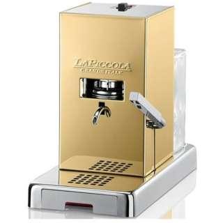 カフェポッド専用コーヒーマシン Piccola ゴールドセット PiccolaGold ゴールド